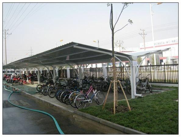 济南自行车棚建设安全防护