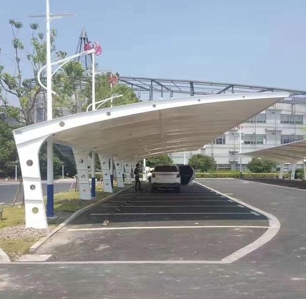 膜结构车棚的发展前景及其注意事项