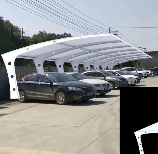 浅谈膜结构车棚兴起的的优势在哪里