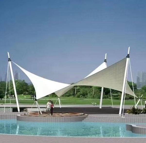 膜结构建筑膜材的特性之一