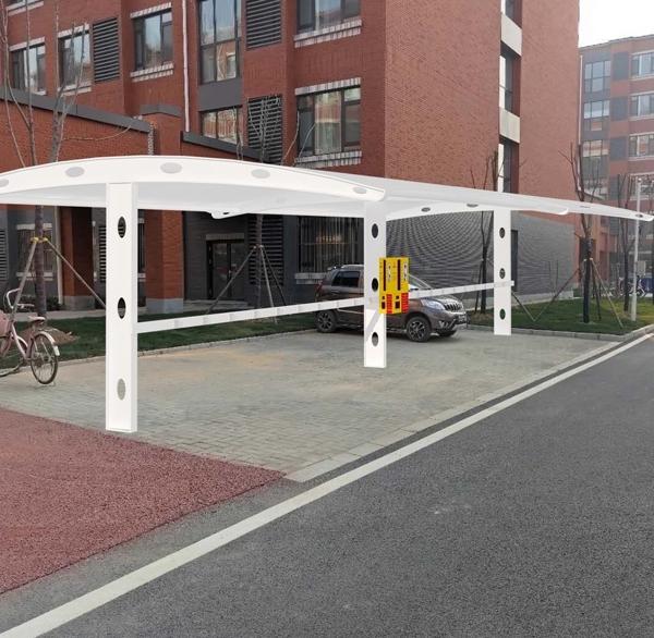 膜结构停车棚的适用场所