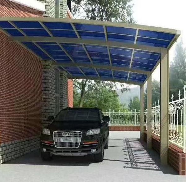 别墅膜结构车棚
