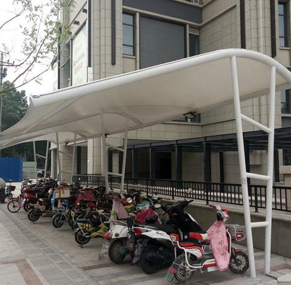 自行车棚设计