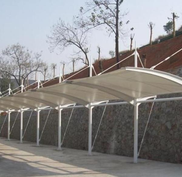 膜结构阳光棚设计