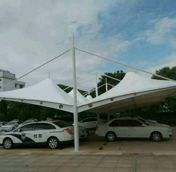 膜结构停车棚设计