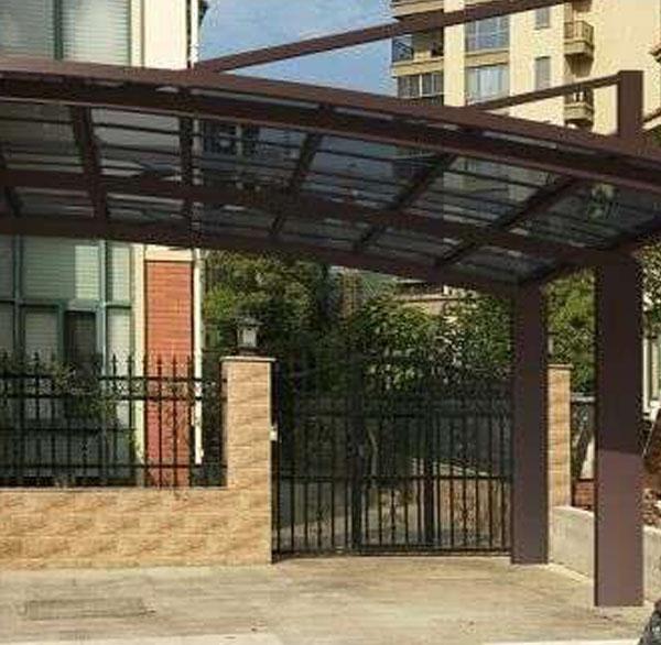 别墅膜结构停车棚