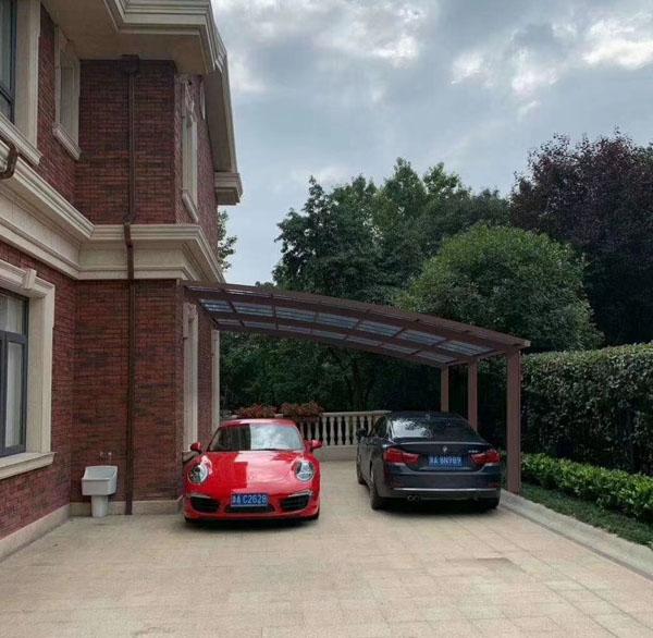 室外别墅车棚